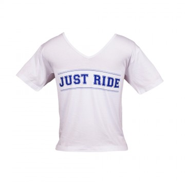 Just Ride T-Shirt - Boys White