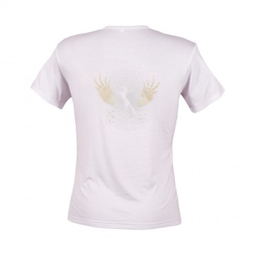 Rearing Horse T-Shirt - Mens White
