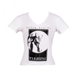 Its a Lifestyle T-Shirt - Womens White