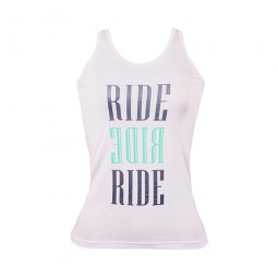 Ride Ride Ride T-Shirt - Womens White