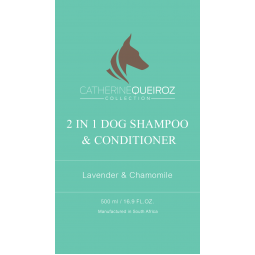 2 in 1 Dog Shampoo & Conditioner - 500ml